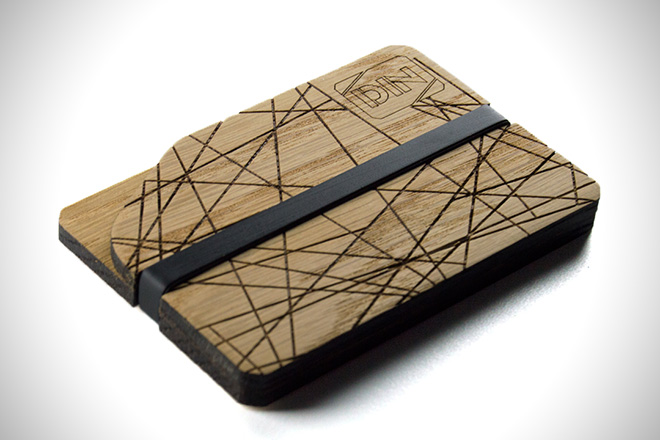 DIN Wallets Dinwood Abstract Wallet