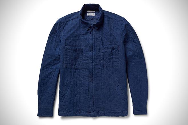 Gant Rugger Quilted Shirt Jacket