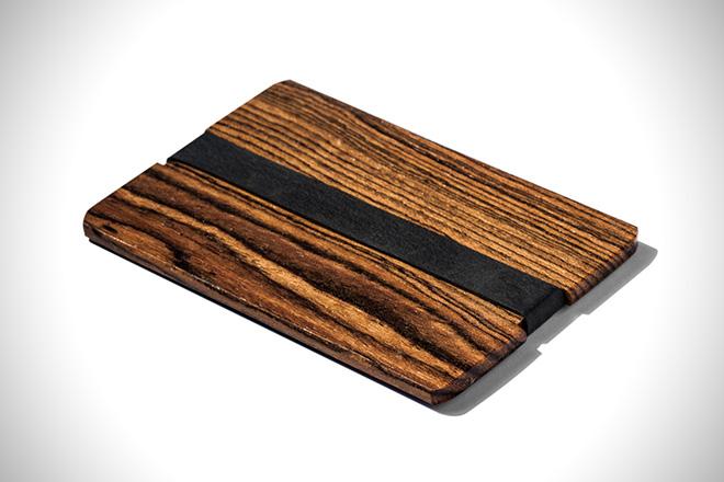 Grainstack Wallets Bocote Wallet
