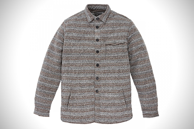 Grayers Dylan Quilted Shirt Jacket