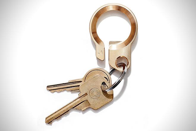 Grovemade Brass Key Ring