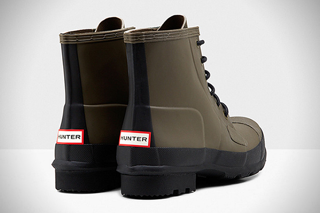 Hunter Original Rubber Lace-Up Boots 2