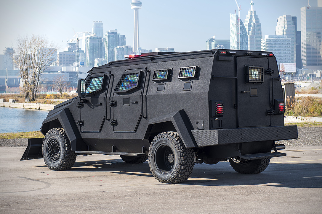 All Wheel Drive Cars >> INKAS Sentry APC Assault Vehicle | HiConsumption