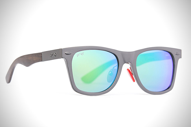 Infinitely Recyclable Aluminum Sunglasses by Proof2