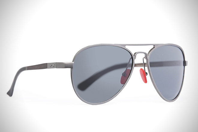 Infinitely Recyclable Aluminum Sunglasses by Proof3