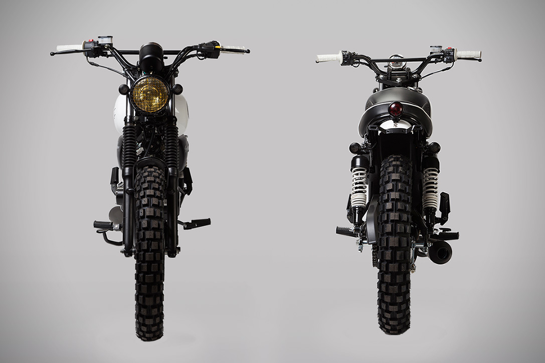 LDN Born Mutt Limited Edition Cafe Racer 2