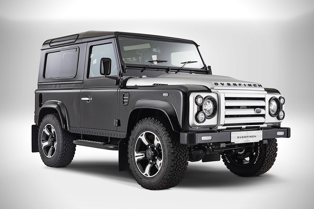 Land Rover Defender 40th Anniversary by Overfinch 2