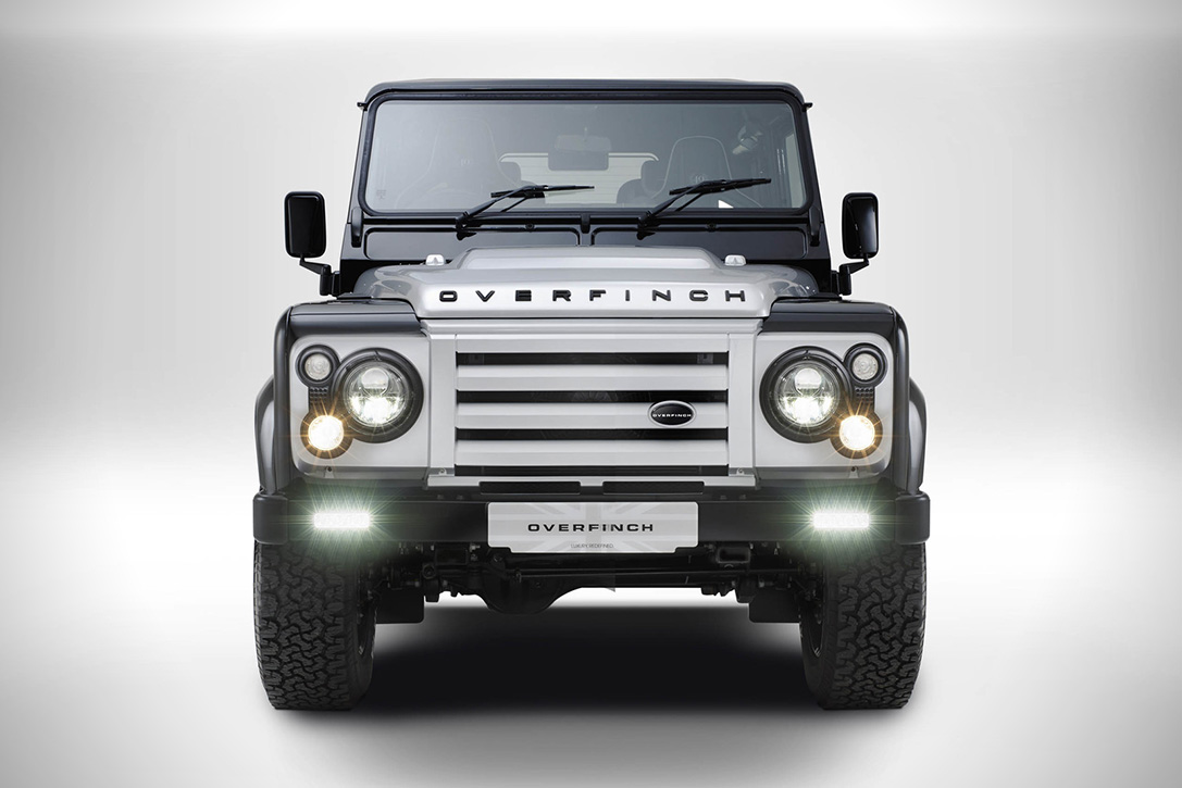 Land Rover Defender 40th Anniversary by Overfinch 3
