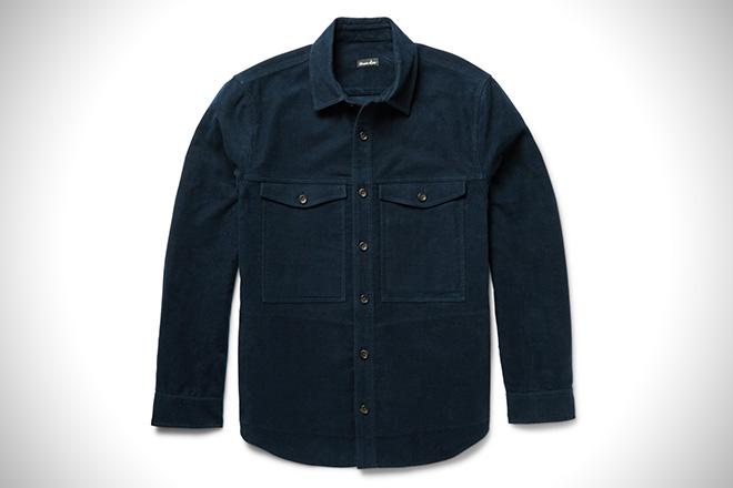 Steven Alan Cotton-Moleskin Shirt Jacket