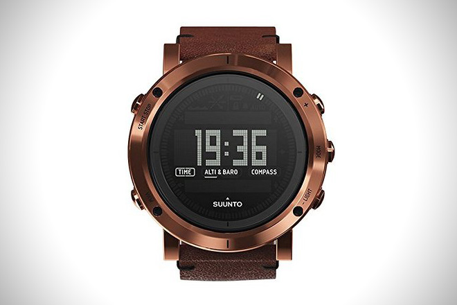 Suunto Essential Copper Digital SS Quartz Watch