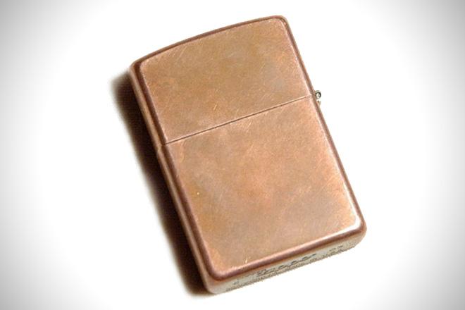Zippo Solid Copper Lighter