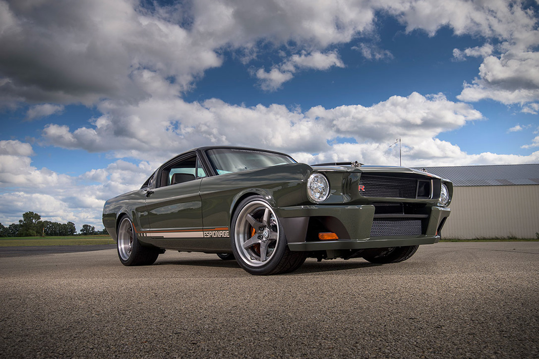 1965 Mustang Espionage by Ringbrothers 4