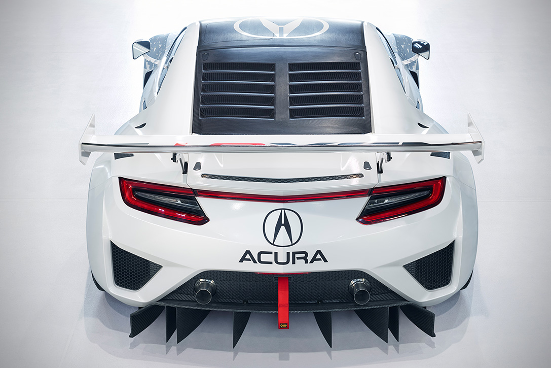 Acura NSX GT3 Race Car 4