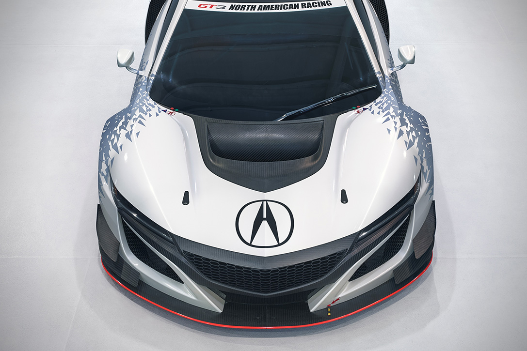 Acura NSX GT3 Race Car 5