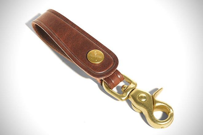 BillyKirk No. 240, Leather Trucker Key Fob