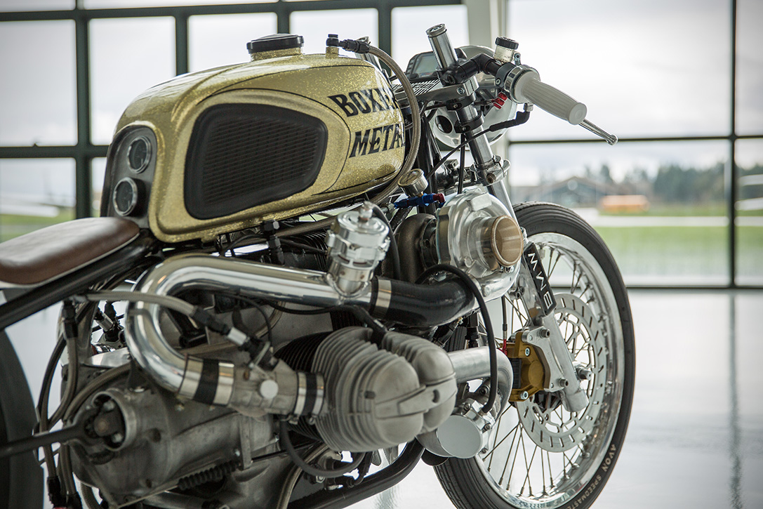 Twin Turbo Bmw R100 By Boxer Metal Hiconsumption