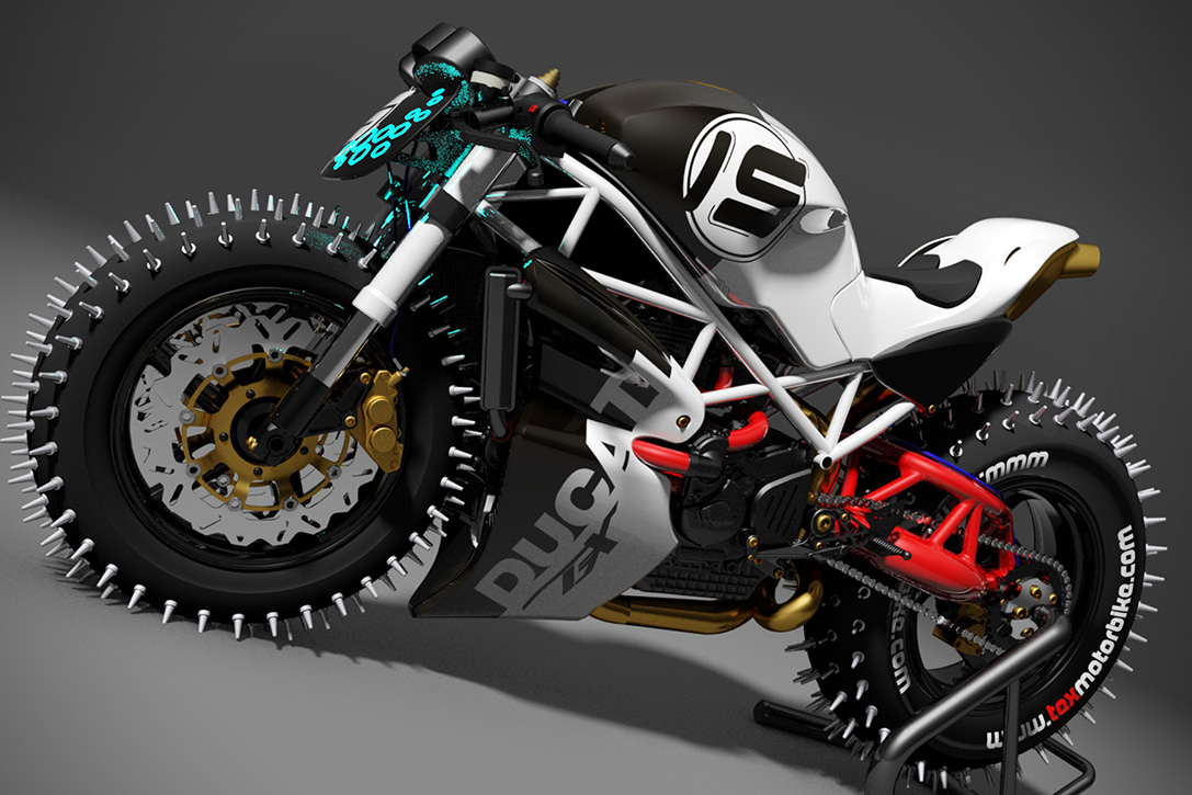 Ducati Ice Monster by Paolo Tesio | HiConsumption