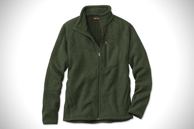 Orvis Sweater Fleece Jacket
