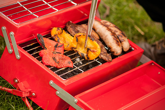 Stainless Steel BBQ Toolbox 4
