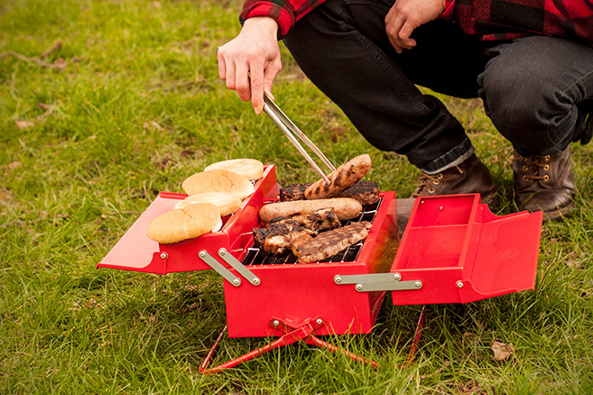 Stainless Steel BBQ Toolbox 5