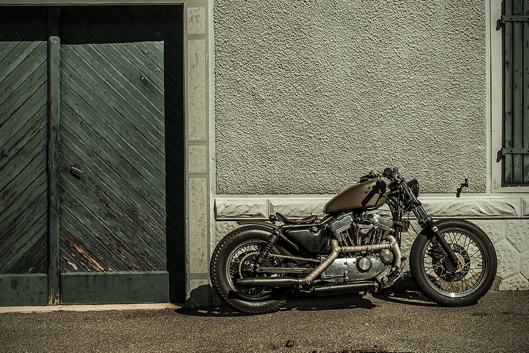 The Witch Harley Davidson Sportster 9