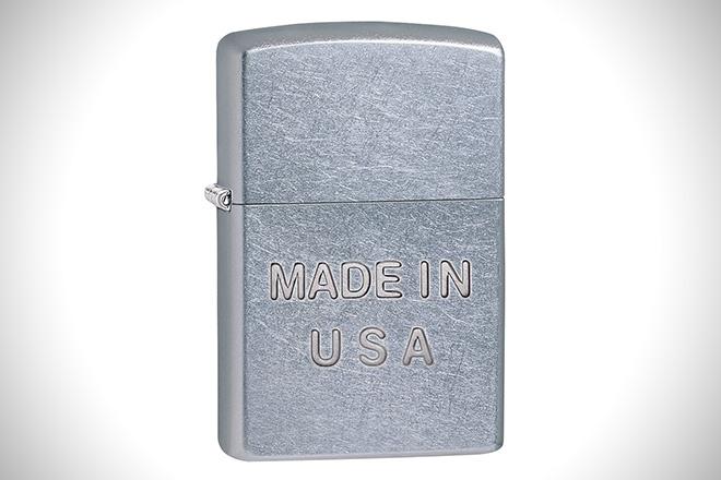 Zippo Embossed Pocket Lighter