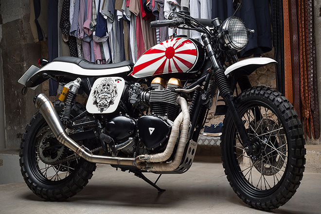 triumph bonneville ronin by tamarit motorcycles hiconsumption
