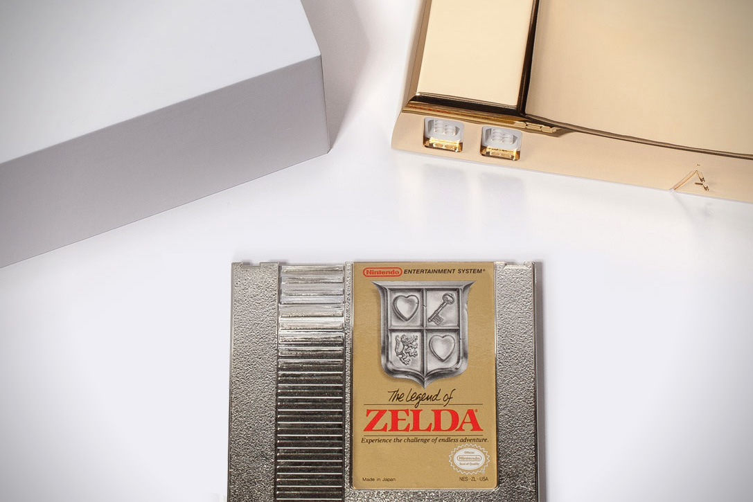 24K Gold NES by Analogue