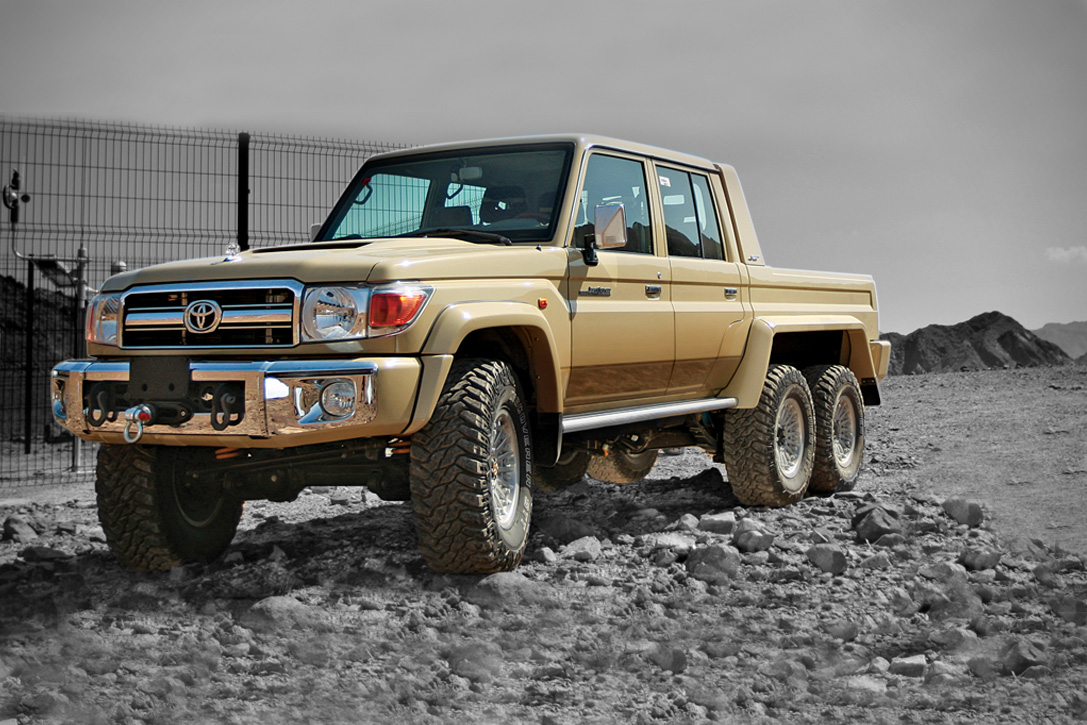 Toyota Land Cruiser 6x6 By Nsv Hiconsumption 1983
