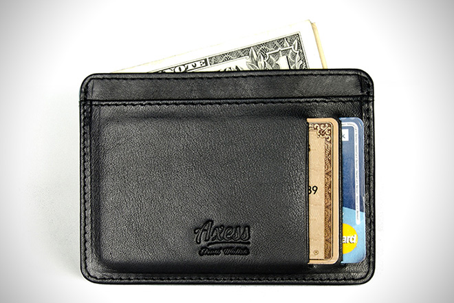 Axess Smooth Compact Wallet