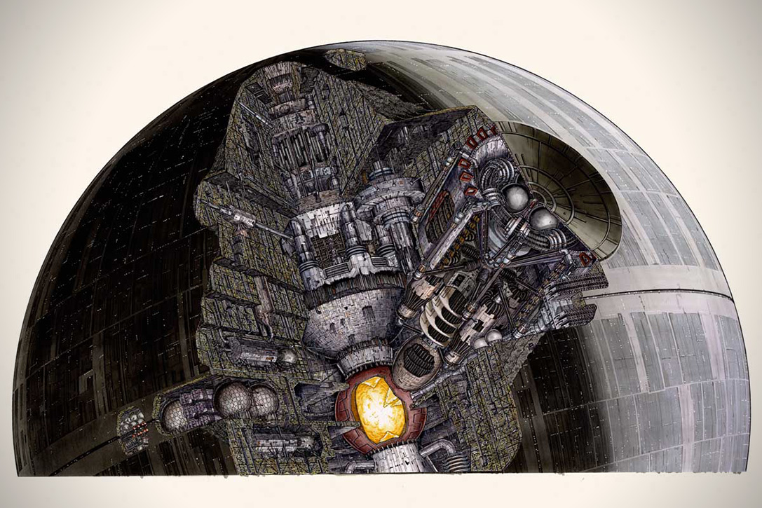 Incredible Cross Sections of Star Wars by David Reynolds 4