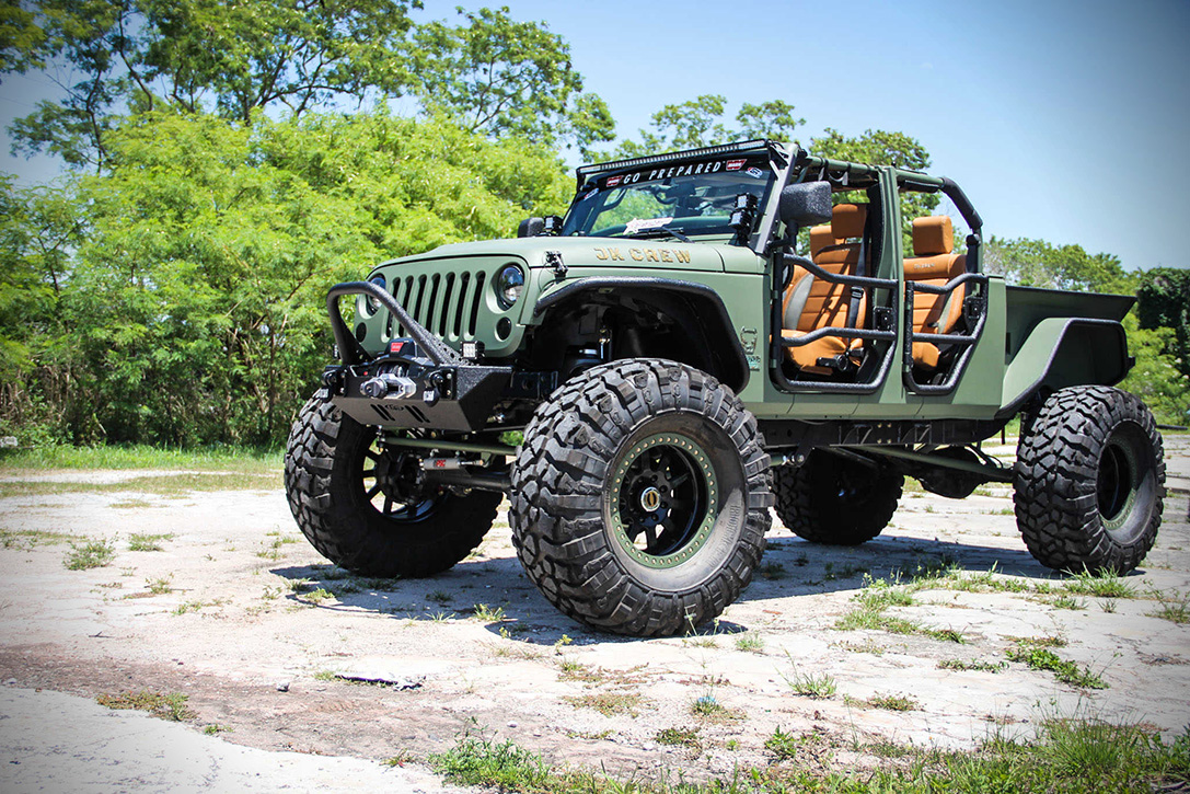 Jeep Jk Tires >> Jeep Wrangler JK Crew by Bruiser | HiConsumption