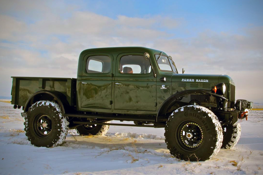 Legacy 4-Door Power Wagon | HiConsumption
