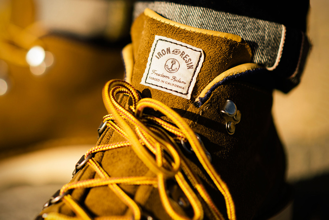 Limited Edition Tramline Boot by Danner X Iron and Resin 5