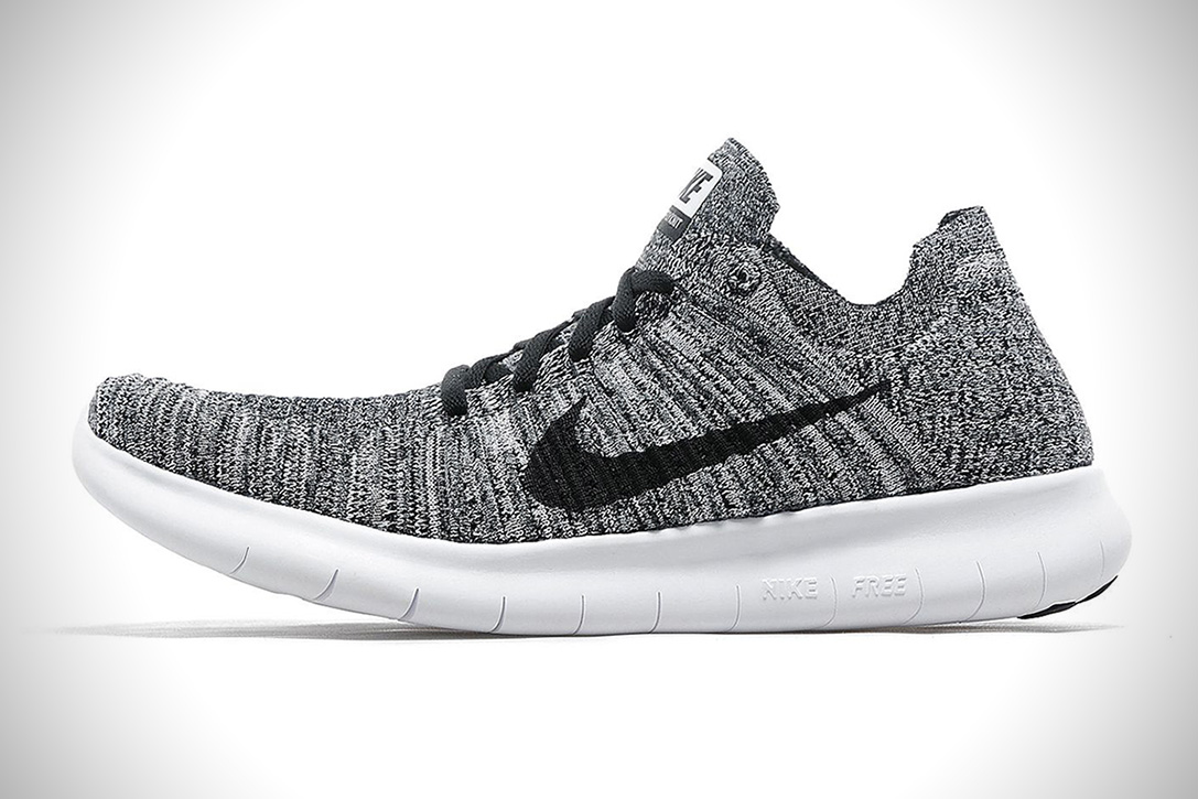 official photos b7a41 69c8e Nike Free Run Flyknit  Oreo