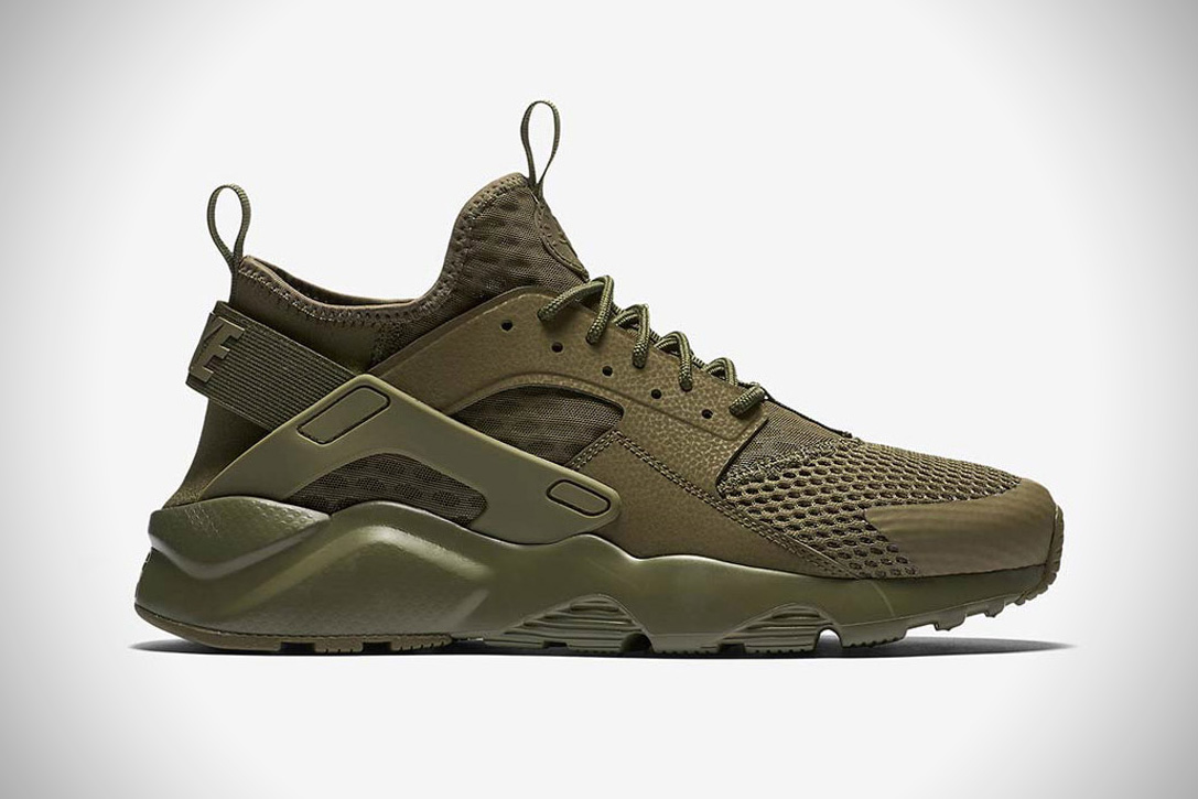 055b1c9b227c4 Nike Air Huarache Run BR Military Green