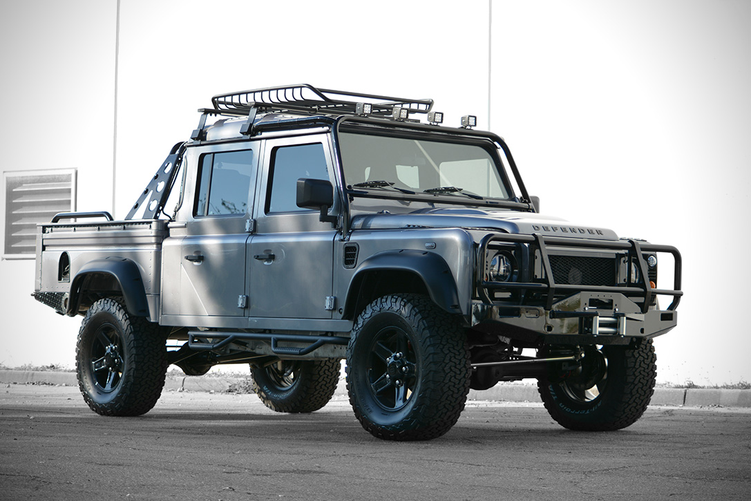 Land Rover Defender Project Spectre Hiconsumption