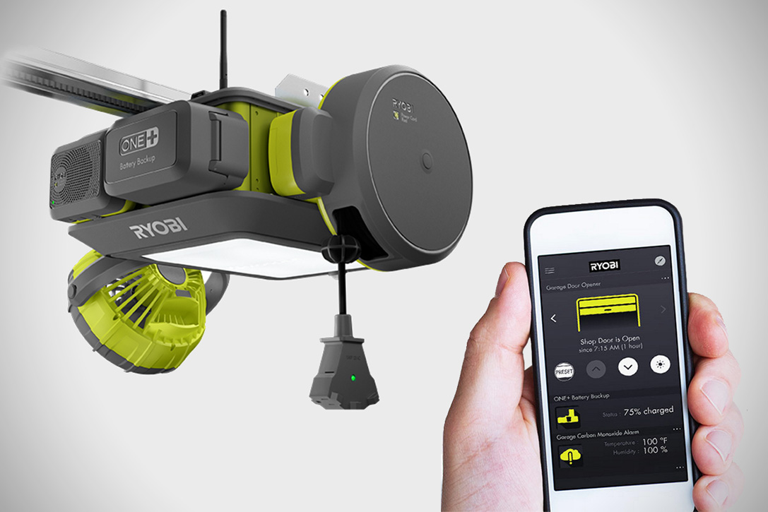 Ryobi Ultra Quiet Garage Door Opener Hiconsumption