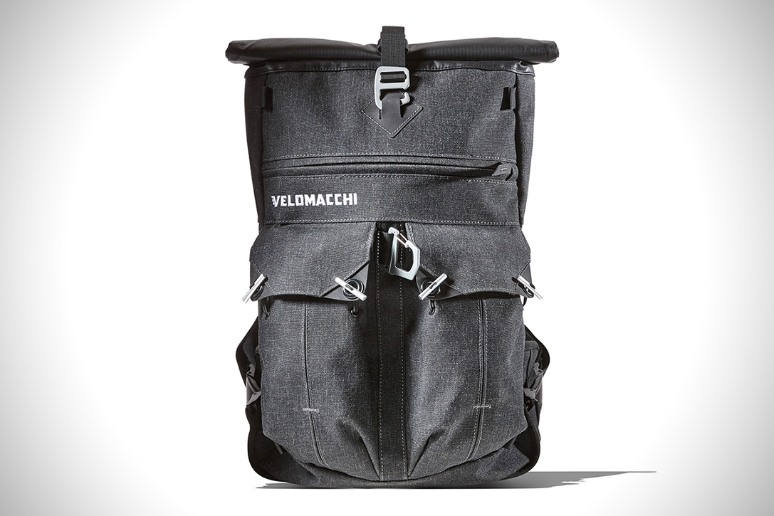 Velomacchi Speedway Roll-Top Backpack 2