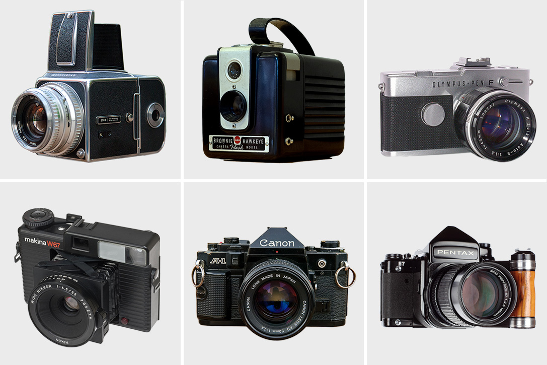 Snap Back: 12 Best Vintage Cameras