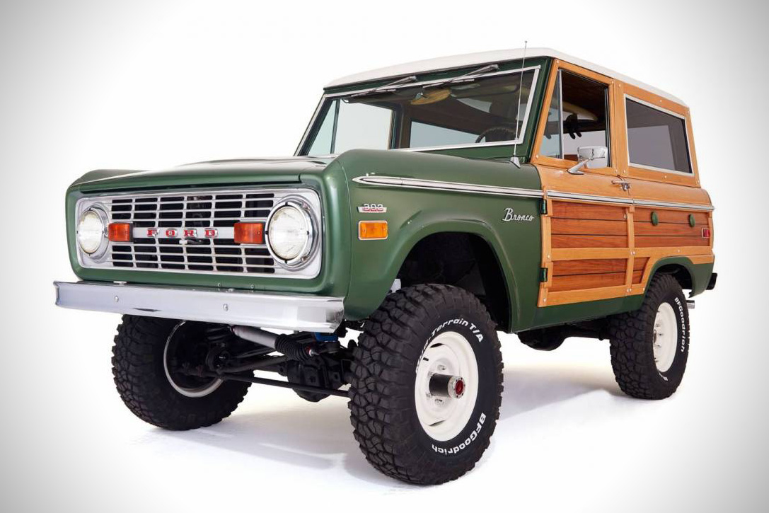 2016 Ford Bronco >> 1974 Ford Bronco Woody By Cfb Hiconsumption