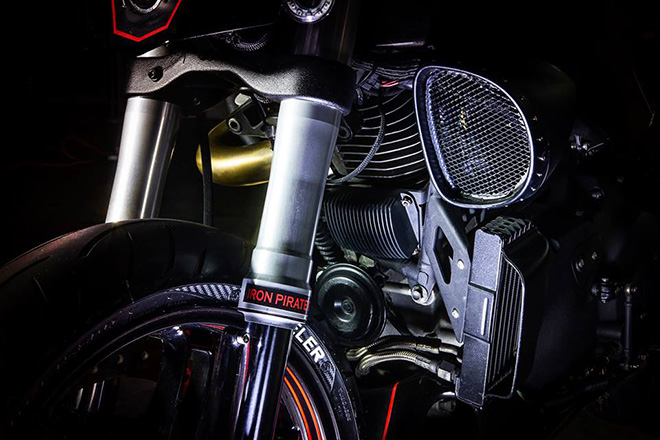 Buell XB9 Cafe Racer by IRON Pirate Garage 7