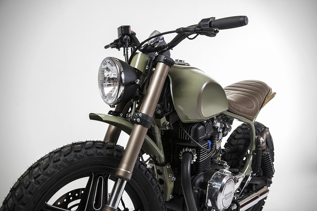 Honda CM400 Alligator by Matteucci Garage 1
