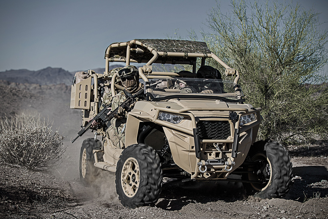 Polaris Defense Turbo Diesel Mrzr D Military Atv