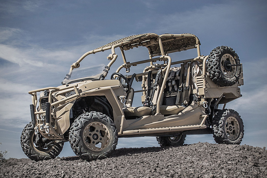 Military Vehicles For Sale >> Polaris Defense Turbo Diesel MRZR-D Military ATV | HiConsumption