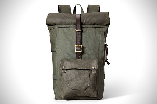 Rolltop Backpack by Filson