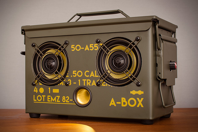 Thodio .50 Cal A-Box Speakers 2