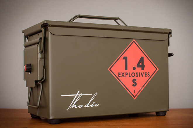 Thodio .50 Cal A-Box Speakers 3