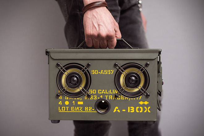 Thodio .50 Cal A-Box Speakers 5