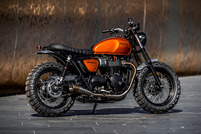 Triumph Street Twin by Down & Out Cafe Racers 3